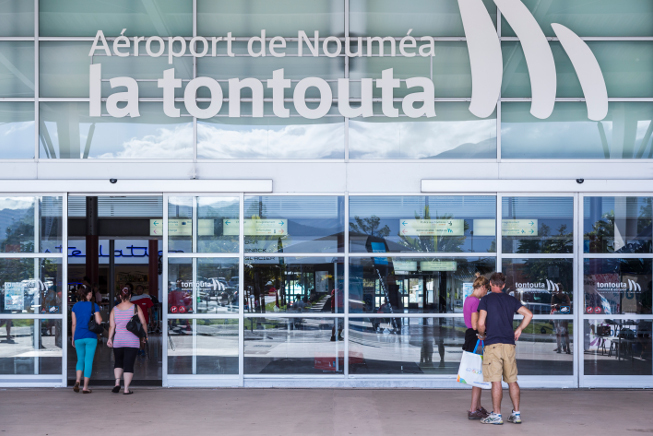 aéroport international de Nouvelle-Calédonie La Tontouta