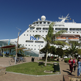 cruise in New Caledonia