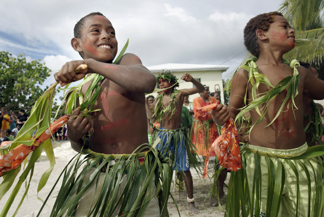 Festival in Ouvéa Loyalty islands