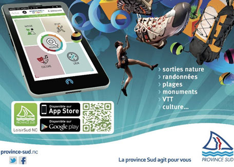 L'application mobile LoisirSud NC