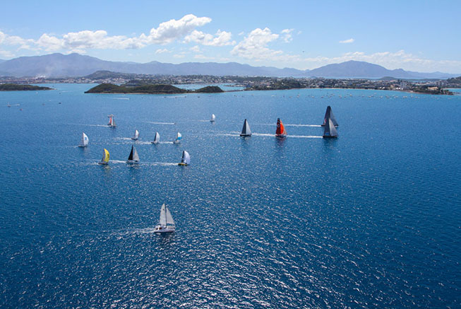 Groupama Race à Nouméa