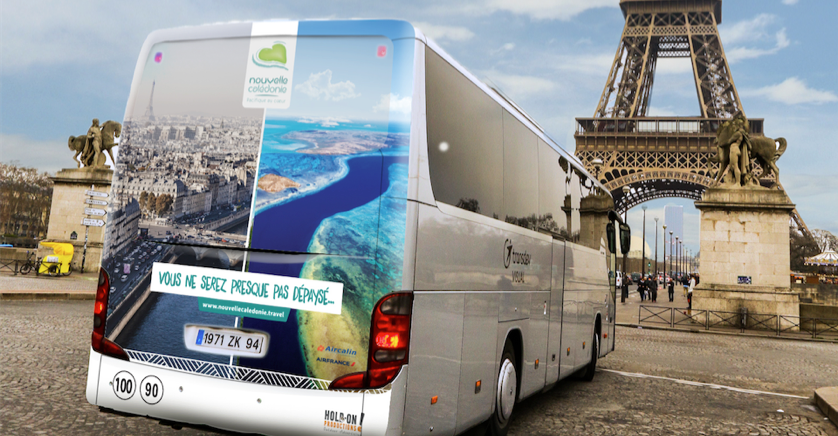Campagne bus Paris