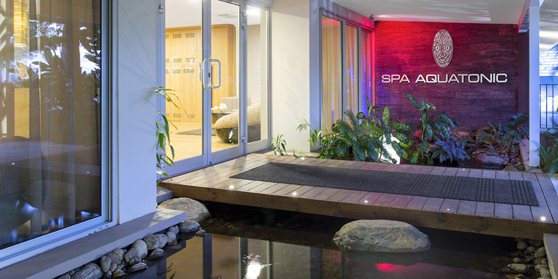 spa aquatonic, chateau royal, noumea