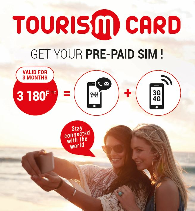 Data SIM card - New Caledonia